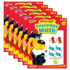 (6 EA) EVERYDAY MATH WIPE OFF BOOK