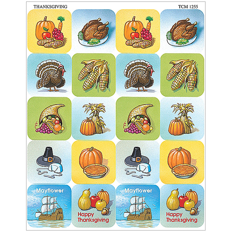 THANKSGIVING STICKERS