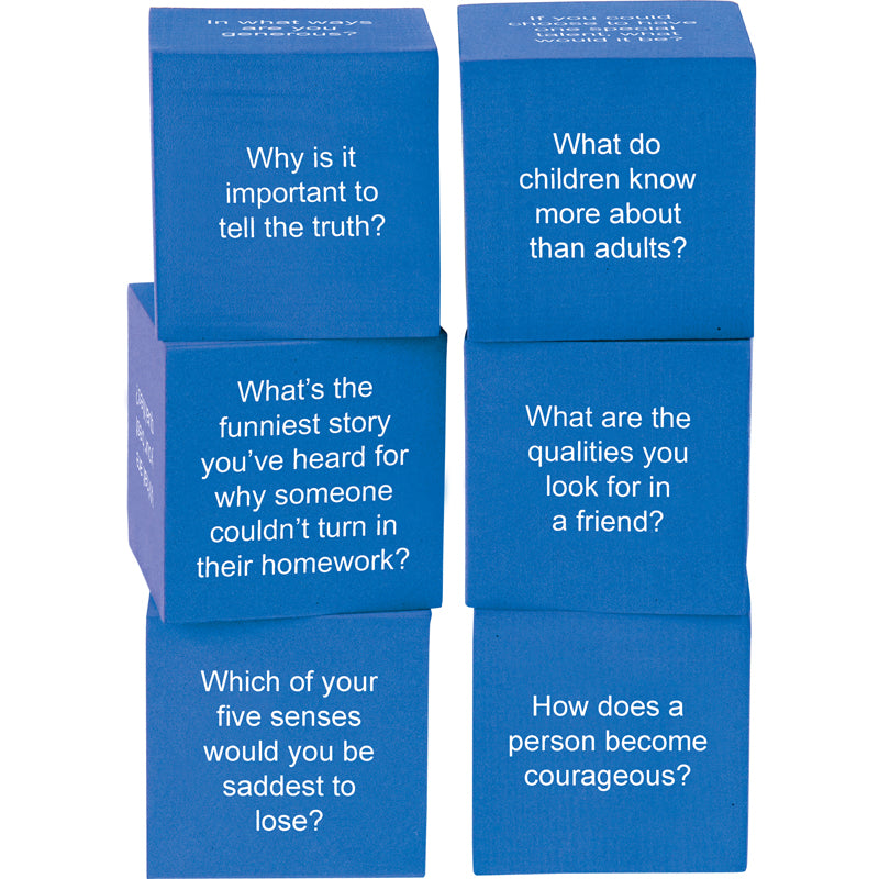 FOAM LIFE QUESTION CUBES