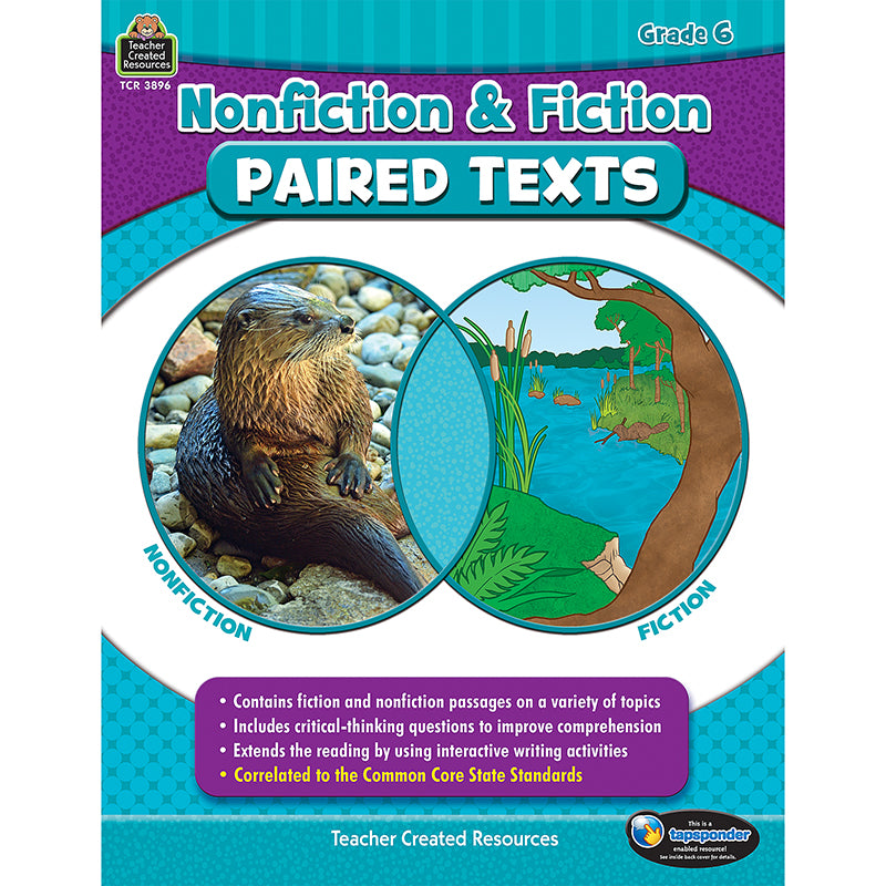 NONFICTION FICTION PAIRED TEXTS GR6