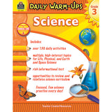 DAILY WARM UPS SCIENCE GR 3