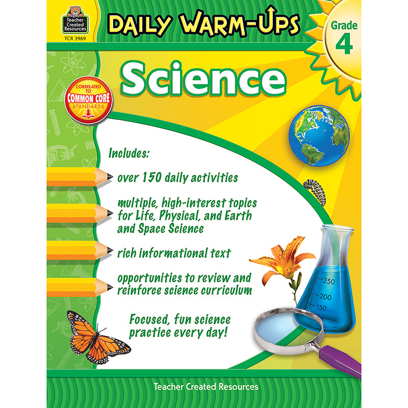DAILY WARM UPS SCIENCE GR 4