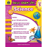 DAILY WARM UPS SCIENCE GR 5