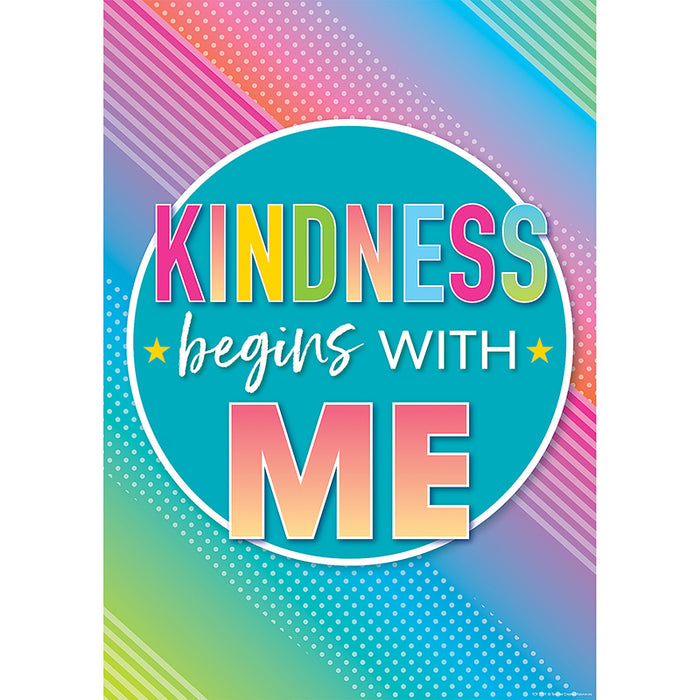 KINDNESS BEGINS WITH ME POSTERS