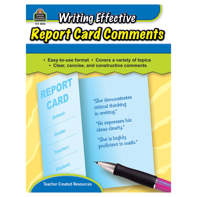 WRITING EFFECTIVE REPORT CARD