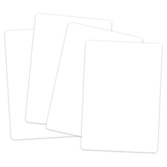 BLANK PLAYING CARDS WHITE