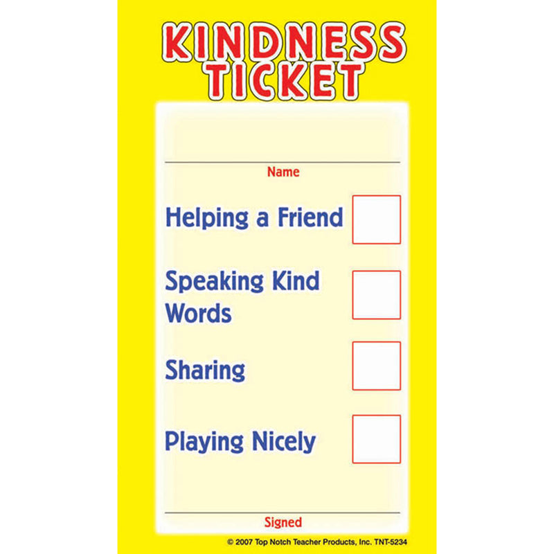KINDNESS TICKETS