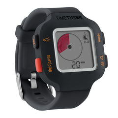 TIME TIMER WATCH PLUS SM CHARCOAL
