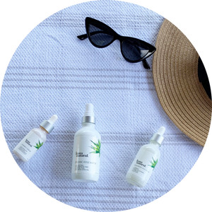 Prevent summer sun spots with InstaNatural product formulated to hydrate and protect your skin