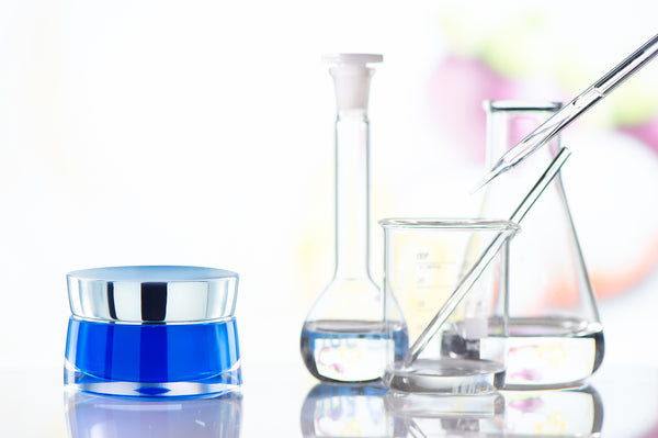 Beakers and Cosmetic Jar