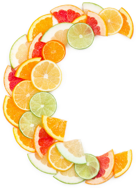 Orange, grapefruit, lime and lemon slice