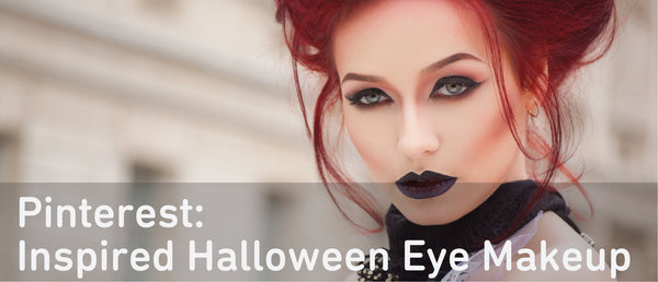Pinterest Inspired Halloween Eye Makeup