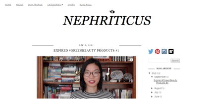 Natural Beauty Influencer: Nephriticus
