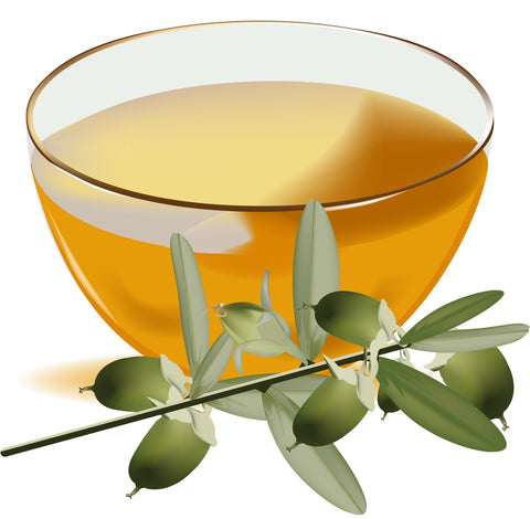 Bowl of Jojoba Seed Oil