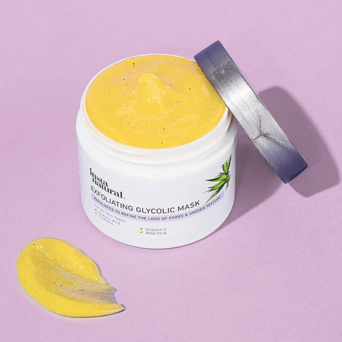 Exfoliating Glycolic Mask - InstaNatural