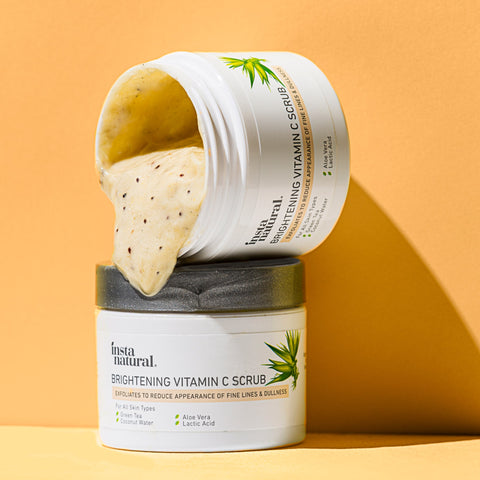 Brightening Vitamin C Scrub - InstaNatural