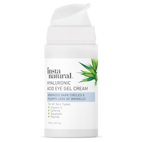 Hyaluronic Acid Eye Gel Cream - InstaNatural