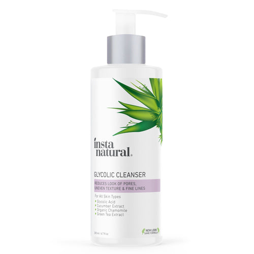 Glycolic Cleanser - InstaNatural | Natural & Organic Skin and Hair Care