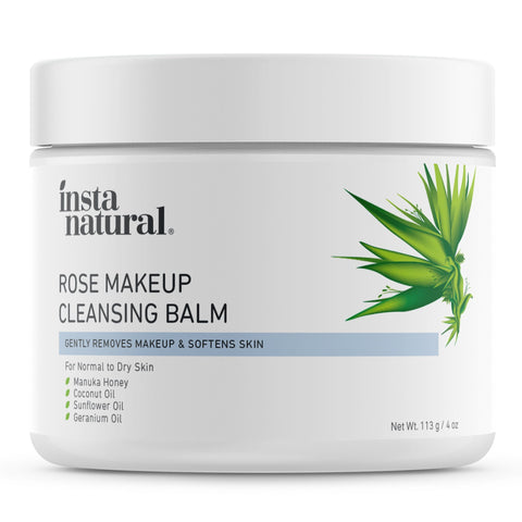 Rose Makeup Cleansing Balm - InstaNatural