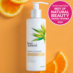 Vitamin C Cleanser - InstaNatural | Natural & Organic Skin and Hair Care