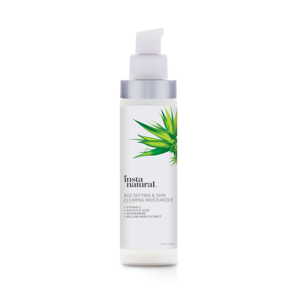 Age Defying & Skin Clearing Moisturizer - InstaNatural