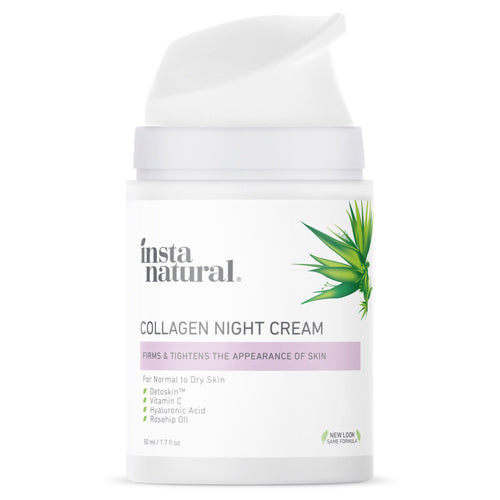 Collagen Night Cream - InstaNatural | Natural & Organic Skin and Hair Care