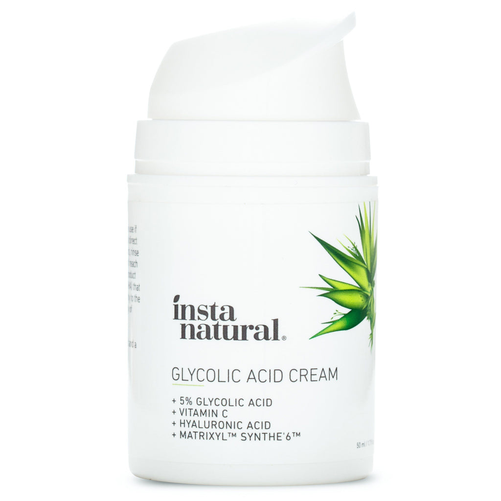 Glycolic Acid Cream - InstaNatural