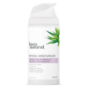 Retinol Moisturizer - InstaNatural | Natural & Organic Skin and Hair Care