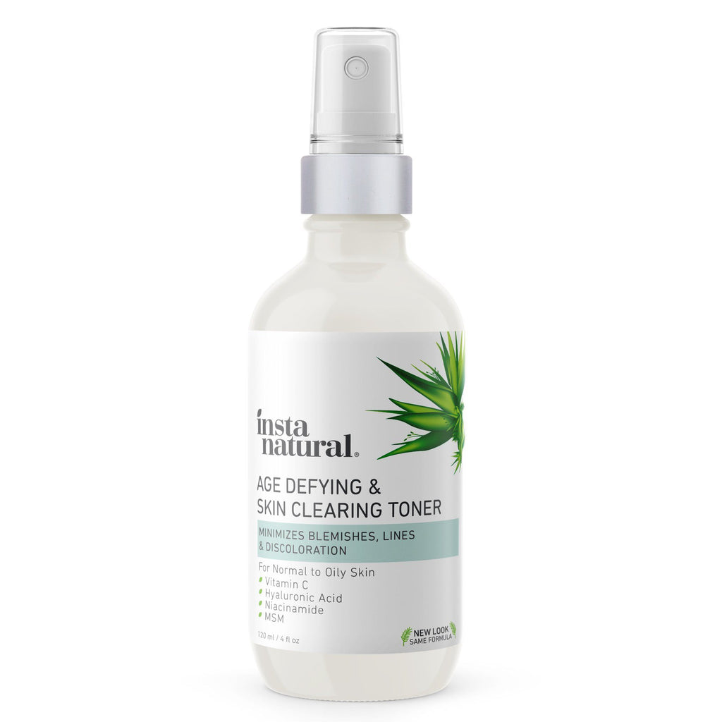 Age Defying & Skin Clearing Toner - InstaNatural | Natural & Organic Skin and Hair Care
