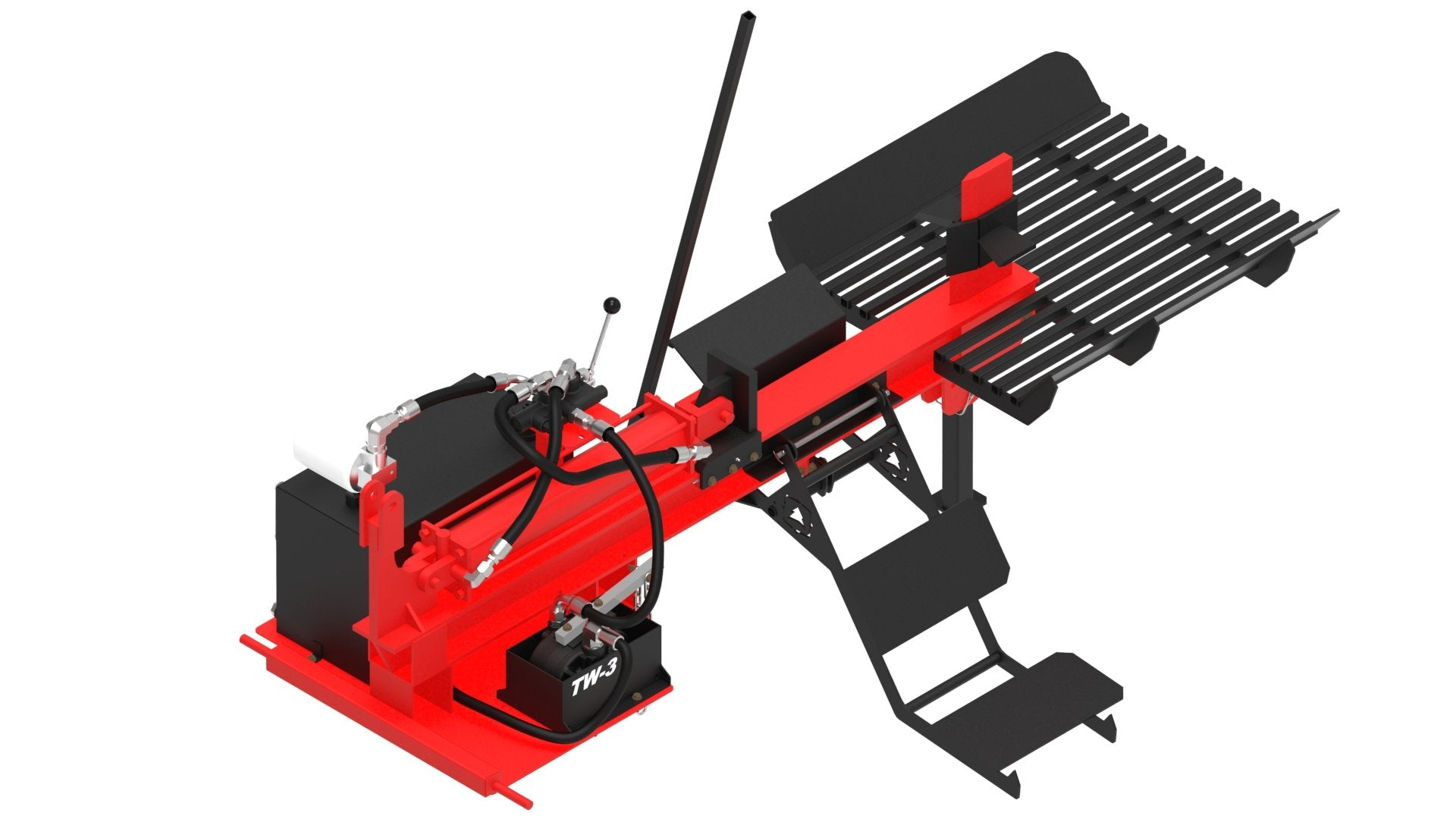 TW-3 4-Way Table Grate Log Lift
