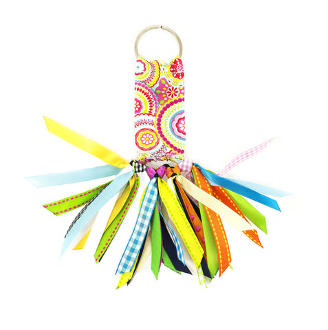 Polly Pink Soodle Key Chain