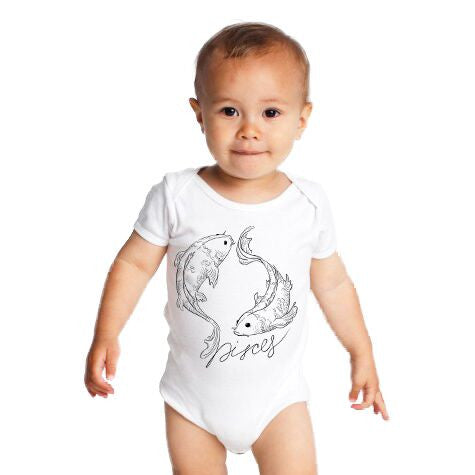 Pisces  Infant One-Piece