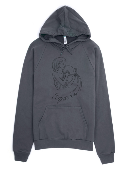 Aquarius Fleece Hoodie sweater