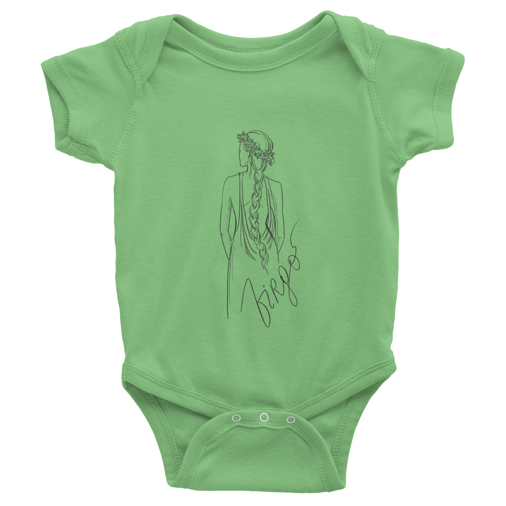 Virgo  Infant One-Piece colors