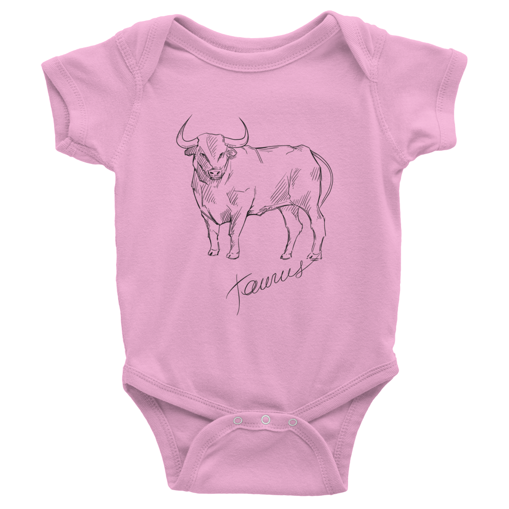 Taurus Infant One-Piece colors