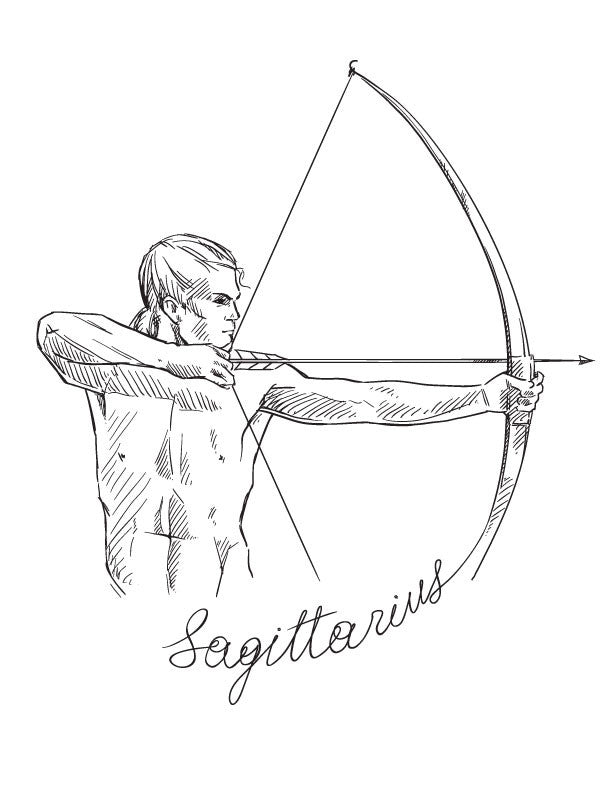 Sagittarius Infant One-Piece