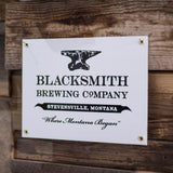 Porcelain Enameled Steel Sign