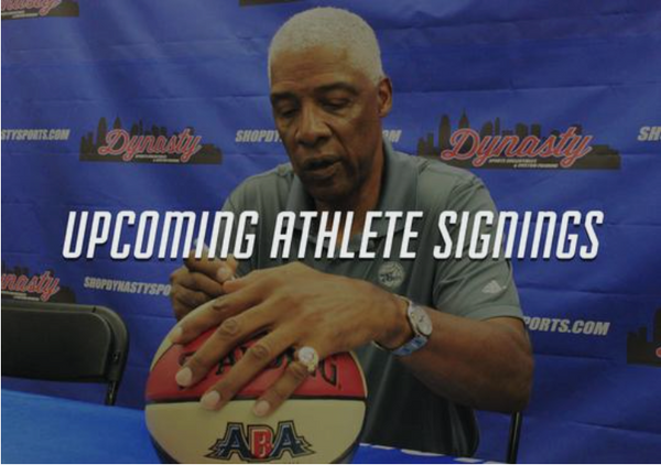 Why Are Athlete Signing Events So Popular?