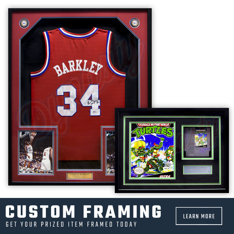 Professional Custom Framing | Dynasty Sports and Framing