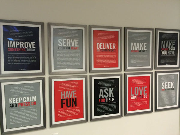 Custom Framed Office Posters