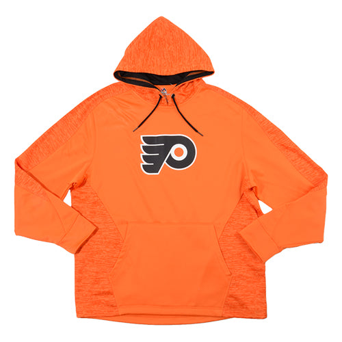 Philadelphia Flyers Majestic Men's Team Logo Armor Pullover Hoodie - Dynasty Sports & Framing