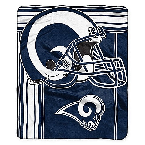 "Los Angeles Rams NFL Football 50"" x 60"" Marquee Fleece Blanket"