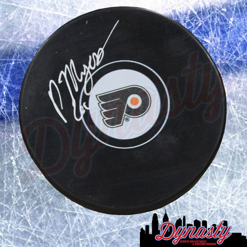 Philippe Myers Philadelphia Flyers Autographed NHL Hockey Puck - Dynasty Sports & Framing