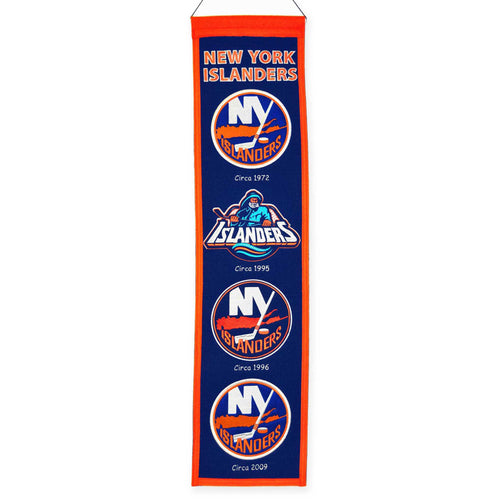 New York Islanders NHL Heritage Banner - Dynasty Sports & Framing