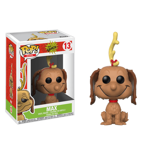 Max Funko Pop! Books: How the Grinch Stole Christmas Vinyl Figure