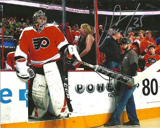 Steve Mason Autographed Philadelphia Flyers Entrance Photo - Dynasty Sports & Framing