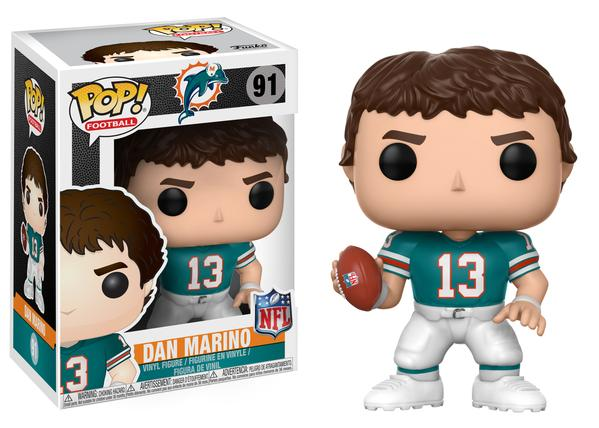 Miami Dolphins Dan Marino Funko Pop! NFL Legends Vinyl Figure