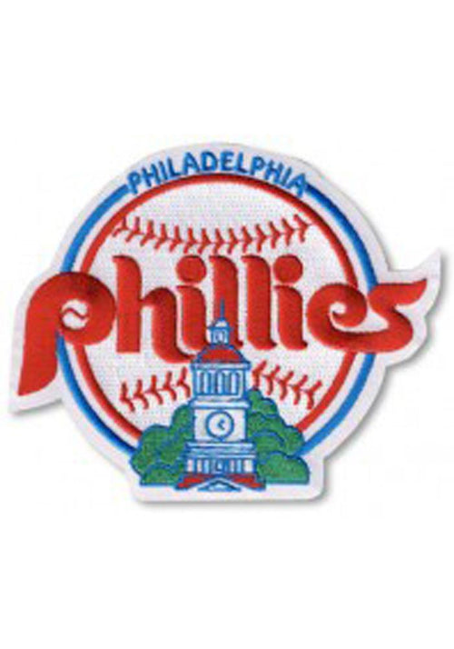 Philadelphia Phillies Authentic Throwback Logo Patch - Dynasty Sports & Framing