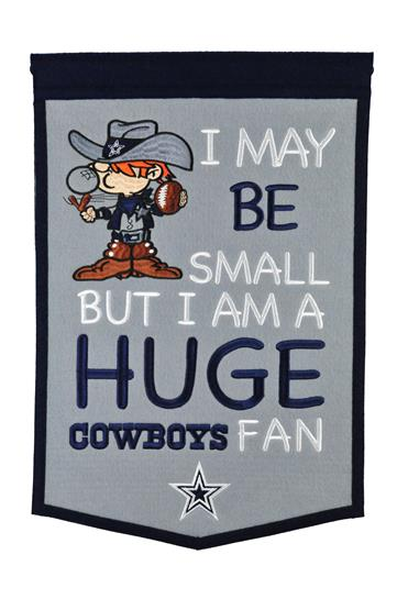 Dallas Cowboys Lil Fan Traditions Banner - Dynasty Sports & Framing