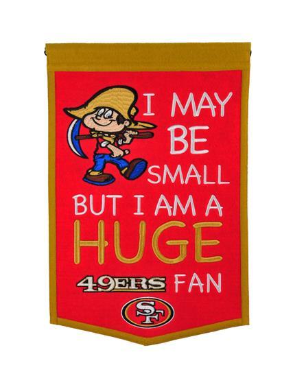 San Francisco 49ers Lil Fan Traditions Banner - Dynasty Sports & Framing